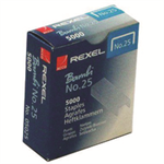 Rexel No. 25 (6/4) Staples (5000)