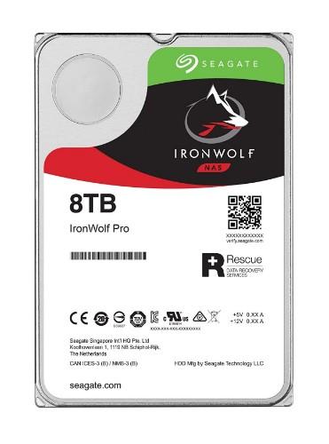 Seagate IronWolf Pro ST8000NE001 internal hard drive 3.5