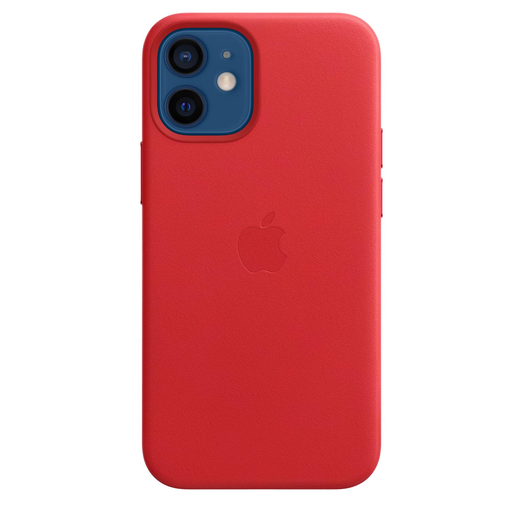 "Apple MHK73ZM/A?ES funda para teléfono móvil 13,7 cm (5.4"") Rojo"