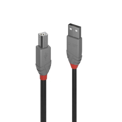 Lindy 36675 5m USB A USB B Male Male Black USB cable