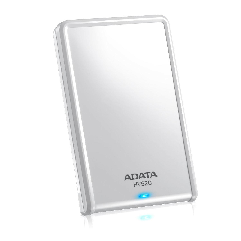 ADATA HV620 2TB 2000GB White external hard drive