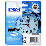 Epson C13T27054010 (27) Ink cartridge multi pack, 3x350pg3x3,6ml, Pack qty 3