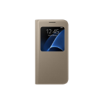 "Samsung S View Cover 5.1"" Flip case Gold"