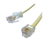 Videk RJ45 to RJ11 1.5m 1.5m Beige telephony cable