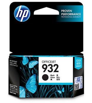 HP 932 Original Negro 1 pieza(s)