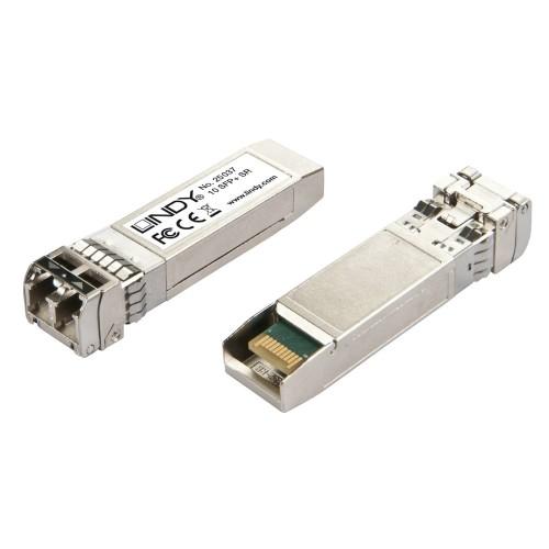 Lindy 25037 network transceiver module Fiber optic 10000 Mbit/s SFP+ 850 nm