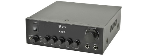 qtx 103.120UK audio amplifier Home Black