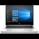 """HP ProBook 430 G7 Notebook 13.3"""" 1920 x 1080 pixels 10th gen Intel® Core™ i5 8 GB DDR4-SDRAM 256 GB SSD Wi-Fi 5 (802.11ac) Windows 10 Pro Pink, Silver"""