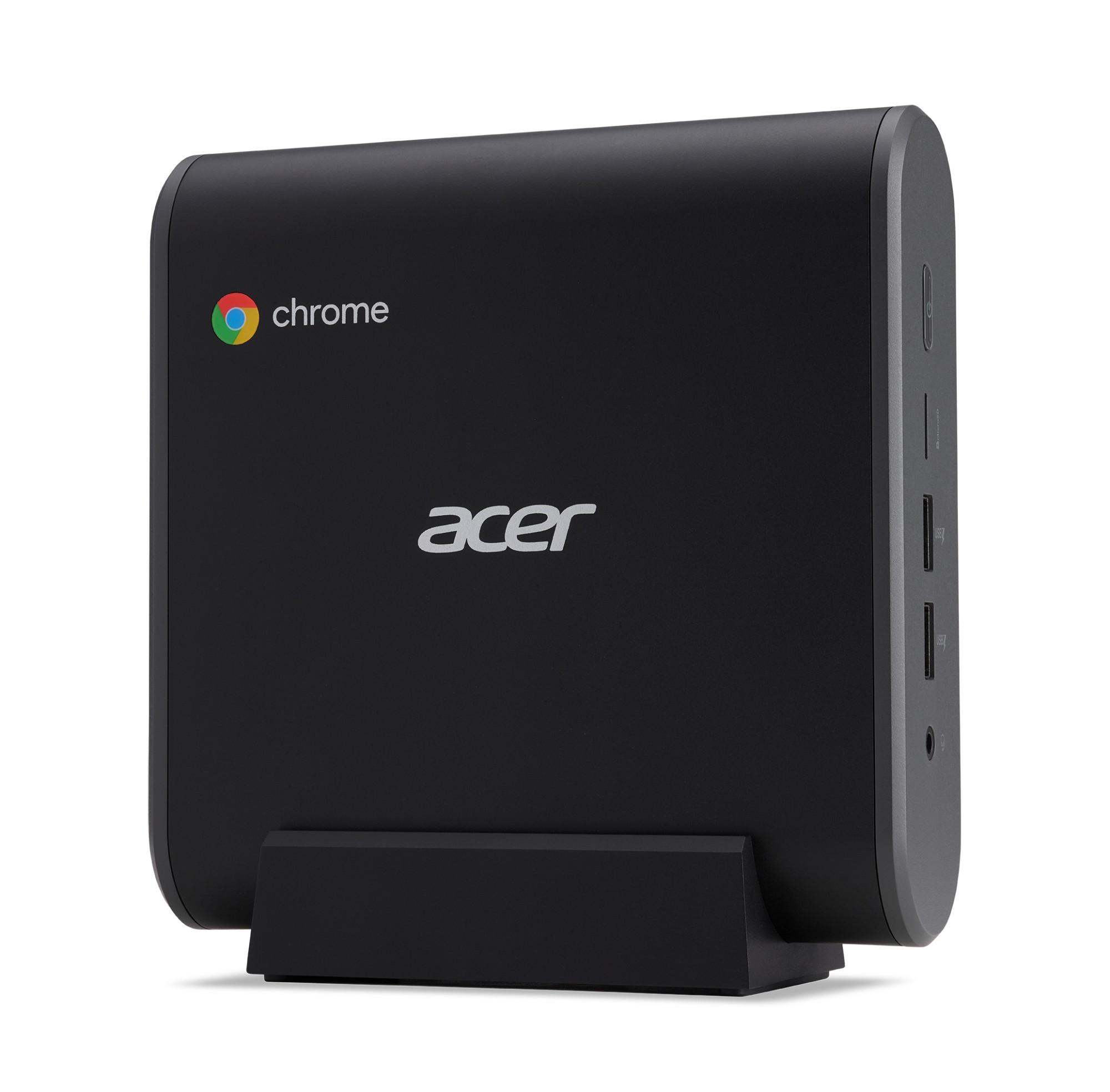 Acer Chromebox CXI3 Intel® Celeron® 3867U 4 GB DDR4-SDRAM 32 GB SSD mini PC Negro Chrome OS