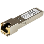 StarTech.com Gigabit RJ45 Copper SFP Transceiver Module - Cisco Meraki MA-SFP-1GB-TX Compatible - 100m