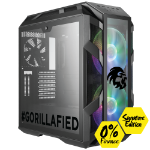 Gorilla Gaming BOSS 3.2 Signature Edition - i9-9900K 3.6GHz, 16GB RGB RAM, 500GB, 2TB, RTX 2080 Super