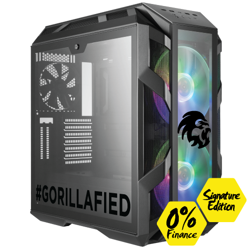 Gorilla Gaming BOSS 3.2 Signature Edition - i7 9700k 3.6GHz, 16GB RGB RAM, 500GB 2TB, 8GB RTX 2080 Super