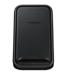 Samsung Standing Wireless Charger - Fast Charge for Samsung and Apple - BLACK