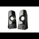 Cyber Acoustics CA-2050 loudspeaker 3 W Black Wired