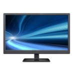 "Vigilant PD215WHV 21.5"" Full HD LED Black Flat computer monitor"