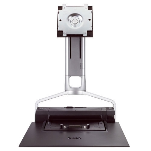 "DELL 330-0874 24"" Freestanding Silver flat panel desk mount"