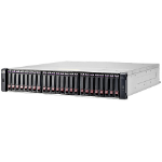 Hewlett Packard Enterprise MSA 1040 2-port SAS Dual Controller SFF Fibre Channel / iSCSI Rack (2U) Black,Grey disk array