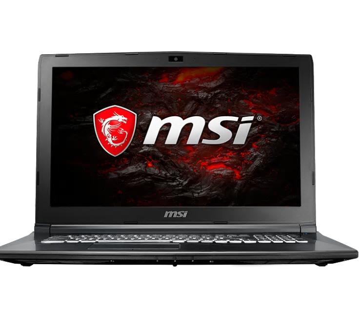 "MSI Gaming GL62M 7REX 1293UK 3.6GHz i7-7700 15.6"" 1920 x 1080pixels Black Notebook"