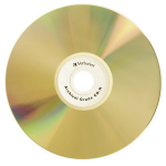 Verbatim UltraLife™ Gold Archival Grade CD-R 80MIN 700MB 52X 50pk Spindle 50 pcs