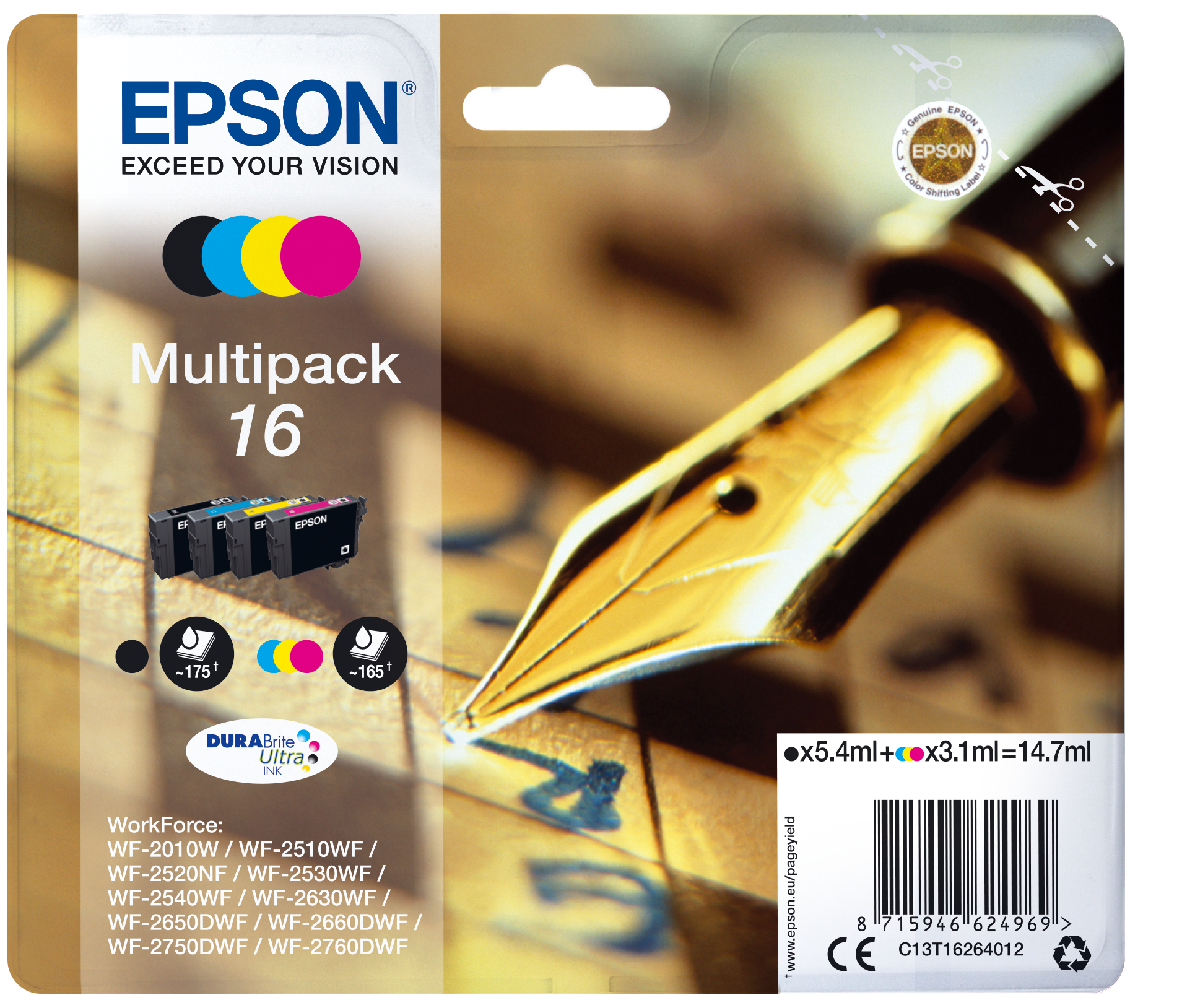 Epson Pen and crossword Multipack 16