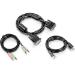 Trendnet TK-CD06 cable para video, teclado y ratón (kvm) 1,8 m Negro