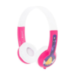 onanoff BuddyPhones Explore Head-band Binaural Wired Pink, White mobile headset