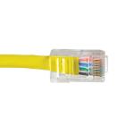 Videk Cat5e UTP RJ-45 networking cable Yellow 10 m U/UTP (UTP)