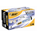 BIC Whiteboard Velleda ECOlutions 1701 Black 12pc(s) marker