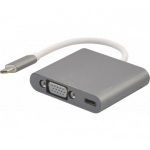 Hypertec 127563-HY cable interface/gender adapter USB-C 3.1 VGA Silver