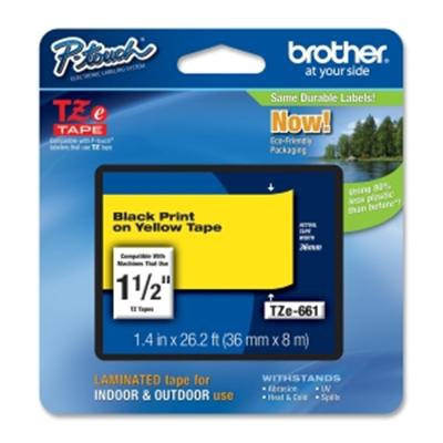 Brother TZe-661 cinta para impresora de etiquetas TZ