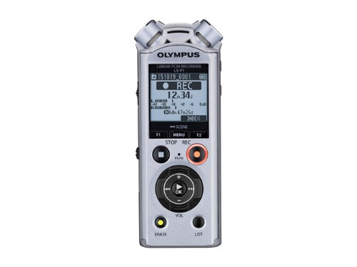 Olympus LS-P1 dictaphone Internal memory & flash card Silver