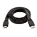 V7 Cable negro de vídeo con conector HDMI macho a HDMI macho 2m 6.6ft