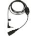 Jabra 8735-019 cable de audio 0,5 m QD 3,5mm Negro