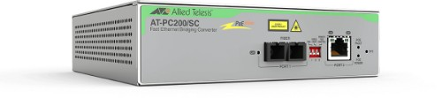 Allied Telesis AT-PC200/SC 100Mbit/s 1310nm Grey network media converter