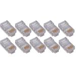 4XEM 4X1000PKC5E wire connector RJ-45 Transparent