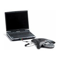 Polycom Computer Calling Kit telephony cable 1.22 m Black