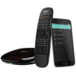 Logitech Harmony Companion remote control IR Wireless Audio,DVR,Home cinema system,PC,Smartphone,Tablet Press buttons