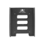"Vantec HDA-250M drive bay panel 3.5"" Black"
