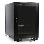 StarTech.com 2636CABINET rack cabinet 15U Freestanding rack Black