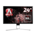 "AOC Gaming AG241QX pantalla para PC 60,5 cm (23.8"") Quad HD LED Plana Negro, Rojo"