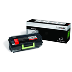 Lexmark 62D0HA0 (620HA) Toner black, 25K pages