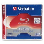 Verbatim 97536 50GB BD-RE 1pcs read/write blu-ray disc (BD)