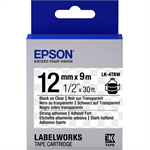 Epson C53S654015 (LK-4TBW) Ribbon, 12mm x 9m