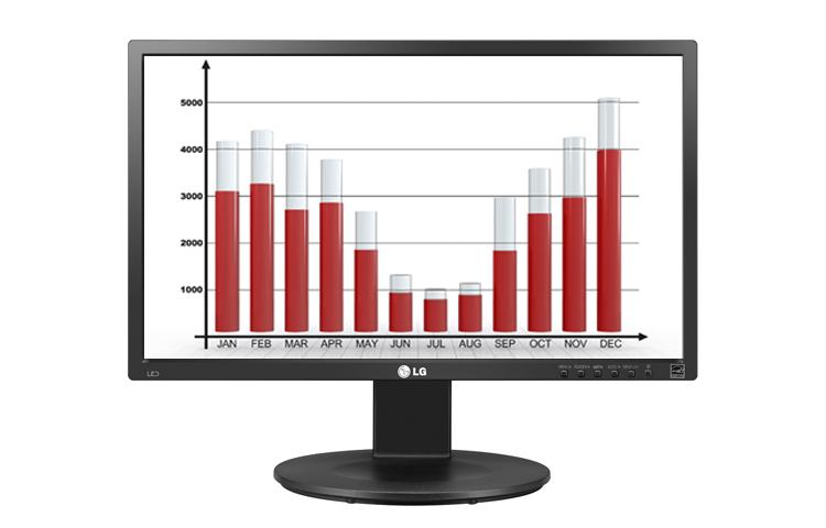 "LG 22MB35D-B 21.5"" Full HD LCD Black computer monitor LED display"