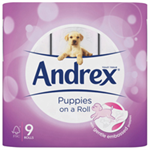 Andrex PUPS TOILET WHITE PK9