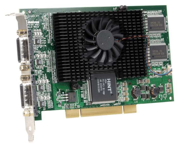 Matrox G45X4QUAD-BF GDDR graphics card