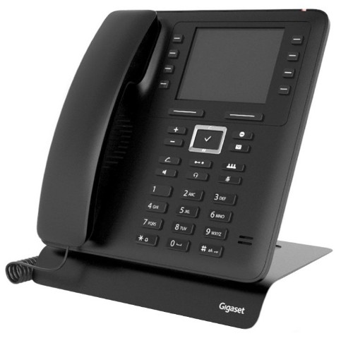 Gigaset Maxwell 2 IP phone Black Wired handset 2 lines