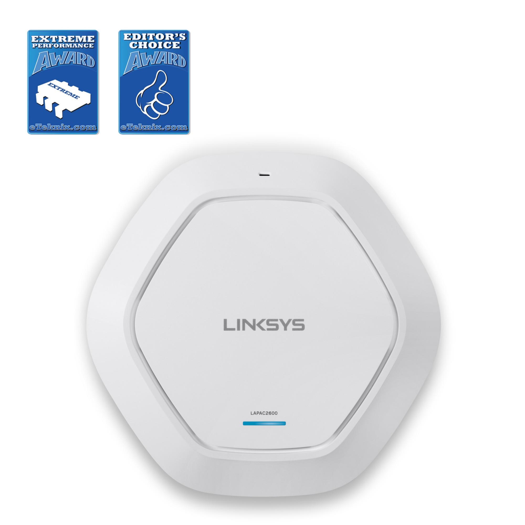 Linksys Business Wireless AC2600 Pro Dual-Band MU-MIMO Access Point  (LAPAC2600)