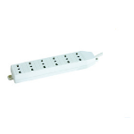 Microconnect GRU006WIT 6AC outlet(s) 1.8m White power extension