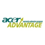 Acer AcerAdvantage - Extended service agreement - parts and labour - 1 year - on-site - response time: NB